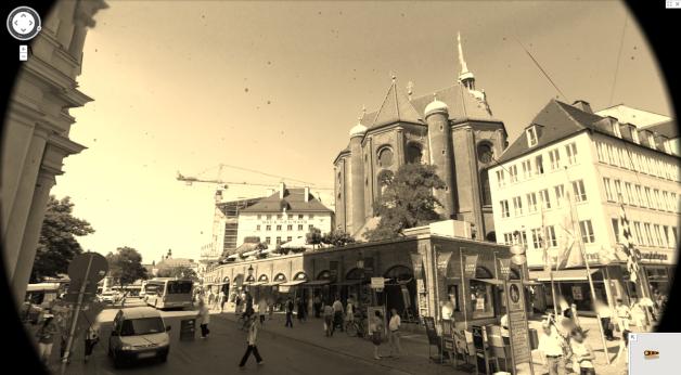 Munich landscape vintage