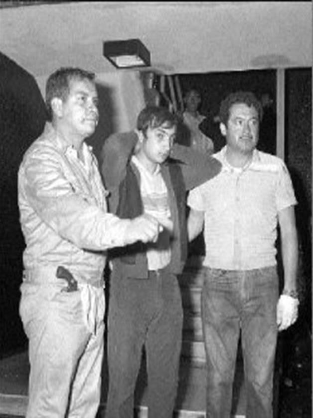 Arrestados por Batallón Olimpia